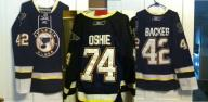 St. Louis Blues Jersey's. Oshie and Backes