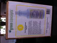 green concept disinfectant cleaner