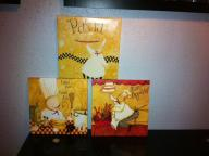 3 pampered chef hanging pics