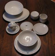 Johnson Brothers 'Blue Ice' Ironstone China - 45pc set