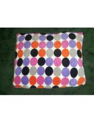 BIG POLKA DOTS PLUSH PILLOW