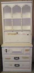 Cute Hutch-Dresser with fold up Desk needs work