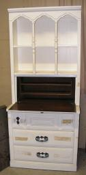 Cute Hutch-Dresser with fold up Desk (open) needs work - cont