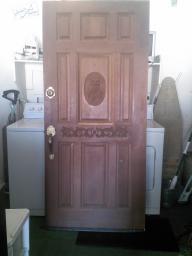 Custom made owl door