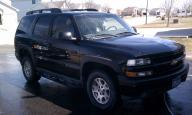 2004 Black Chevy Tahoe Z71