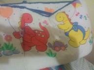 baby dinosaur crib bumper