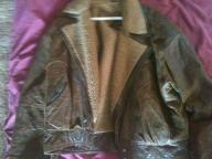 Brown Leather Jacket (Sheep skin lining)