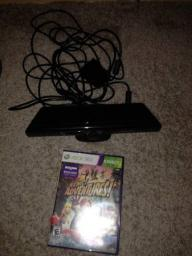 Kinect w/Adventures Game