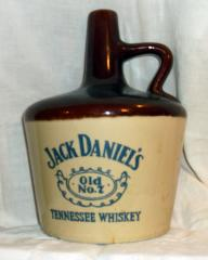Vintage Jack Daniels Old No. 7 Tennessee Whiskey Stoneware Advert