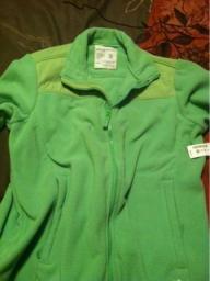 Lime green Aeropostale jacket