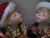Porcelin Twin dolls