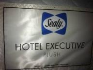 KING SIZE SEALY MATTRESS SET