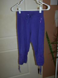 Purple Heart Capri pants