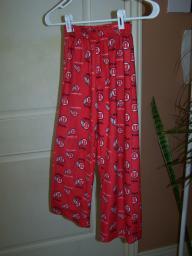 University of Utah (Go Utes) pajama pants Size M 8