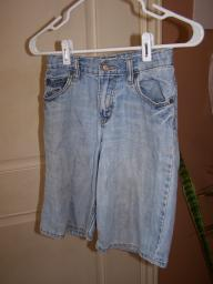Denim shorts size 10 slim.