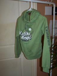Sage green hoddie,