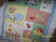 5 pc. Farm Crib Set