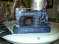 Embellished Replica Sewing Machine