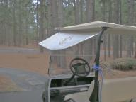 Rain Check Sun Check Golf Cart Visor