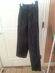 Black Dockers Boys Pants Size slim 8.