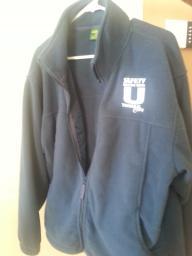 Cabbella's fleece sweater zip front size XL Regular