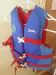 Scooby-Doo life jacket youth 50-90 lbs