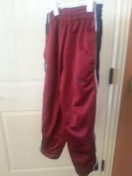 Reversible sweat pants with zip sides size 6-7