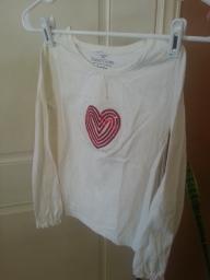 Faded Glory girls shirt size 8