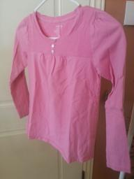Pink girls shirt -- Old Navy size 6