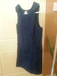 Navy blue jumper with pockets size 10