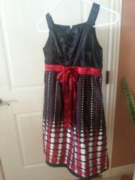 Polka Dot dress size 7 b