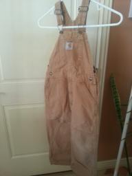 Carhart Overalls size 6 regular