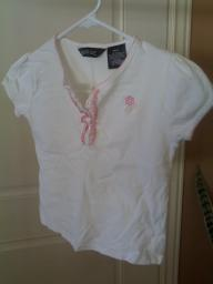 White Girls  Blouse size 7
