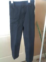 Girls French Toast Navy Blue size 6 slim Pants