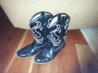 Cowboy Boots Black Size 2