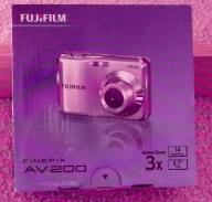 FUJIFILM Finepix AV200 Digital Camera (Silver)