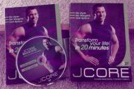 JCORE 20 Minute Body Transformation 7 DVD Workout Set