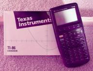 Texas Instruments TI-86 Graphing Calculator w/Guidebook