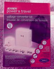 Jensen Voltage Converter Kit for 220-240 Volt Conversion