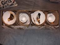Rosanna brand Four Calling Birds dipping bowls