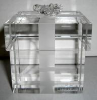 Crystal Giftbox Paperweight