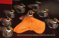 Mallard Duck Wooden Napkin Rings