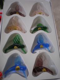 crystal hummingbird ornaments