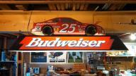 Budweiser #25 Pool Table Light