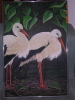 Painting A Pair of Egrets