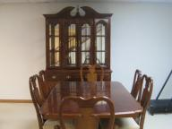 Dining table and chairs with matching china cabniet
