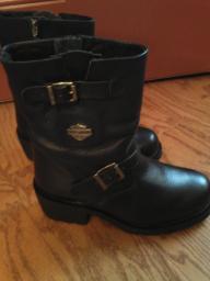 Harley Davidson mid-calf boots