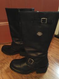 Harley Davidson women's knee boots
