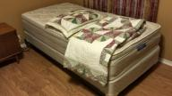 Twin Bed Set Pillow Top - Like New