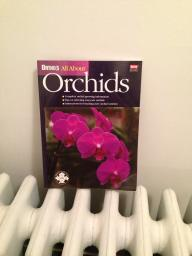 Book on orchids